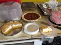 My mom's famous lemon meringue pie
