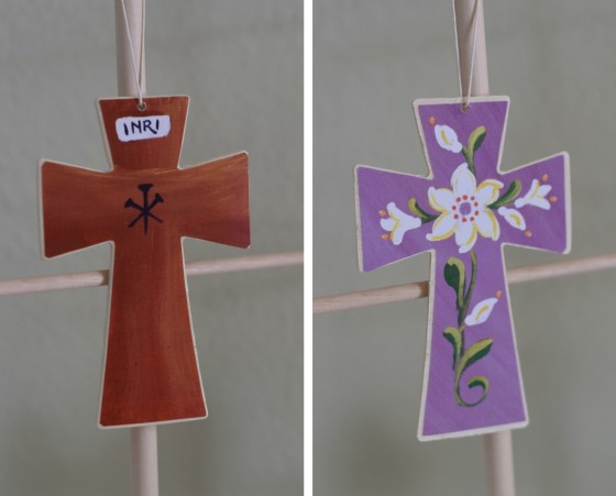 Holy Week Cross